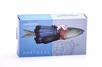 Sardines in Olive Oil with Lemon Oqopo