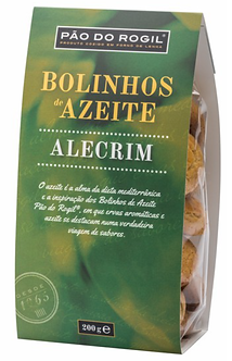 Olive Oil and Rosemary Cookies Pão do Rogil