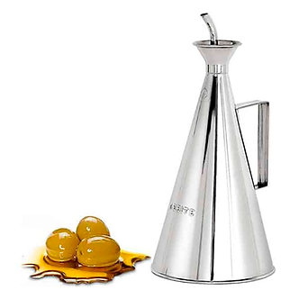 Anti-Drip Oil Can in Stainless Steel 500ml