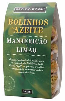 Bolinhos de Azeite Pão do Rogil de Manjericão e Limão