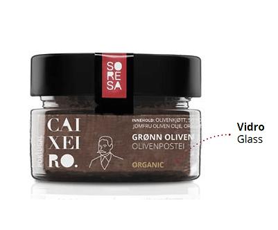Pâte d'Olive biologique Caixeiro