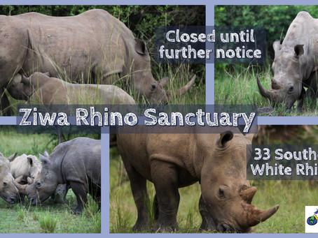 Ziwa Rhino Sanctuary - Closed until further notice