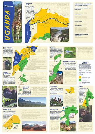 Detailed Map of Uganda National Parks.jp