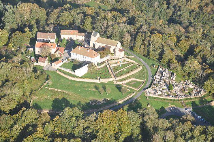 Vue aérienne Saint-Georges Nigremont