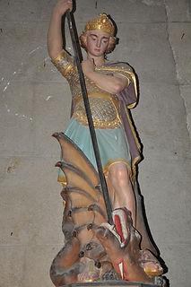 Statue de Saint-Georges