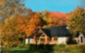 La salle polyvalente en automne