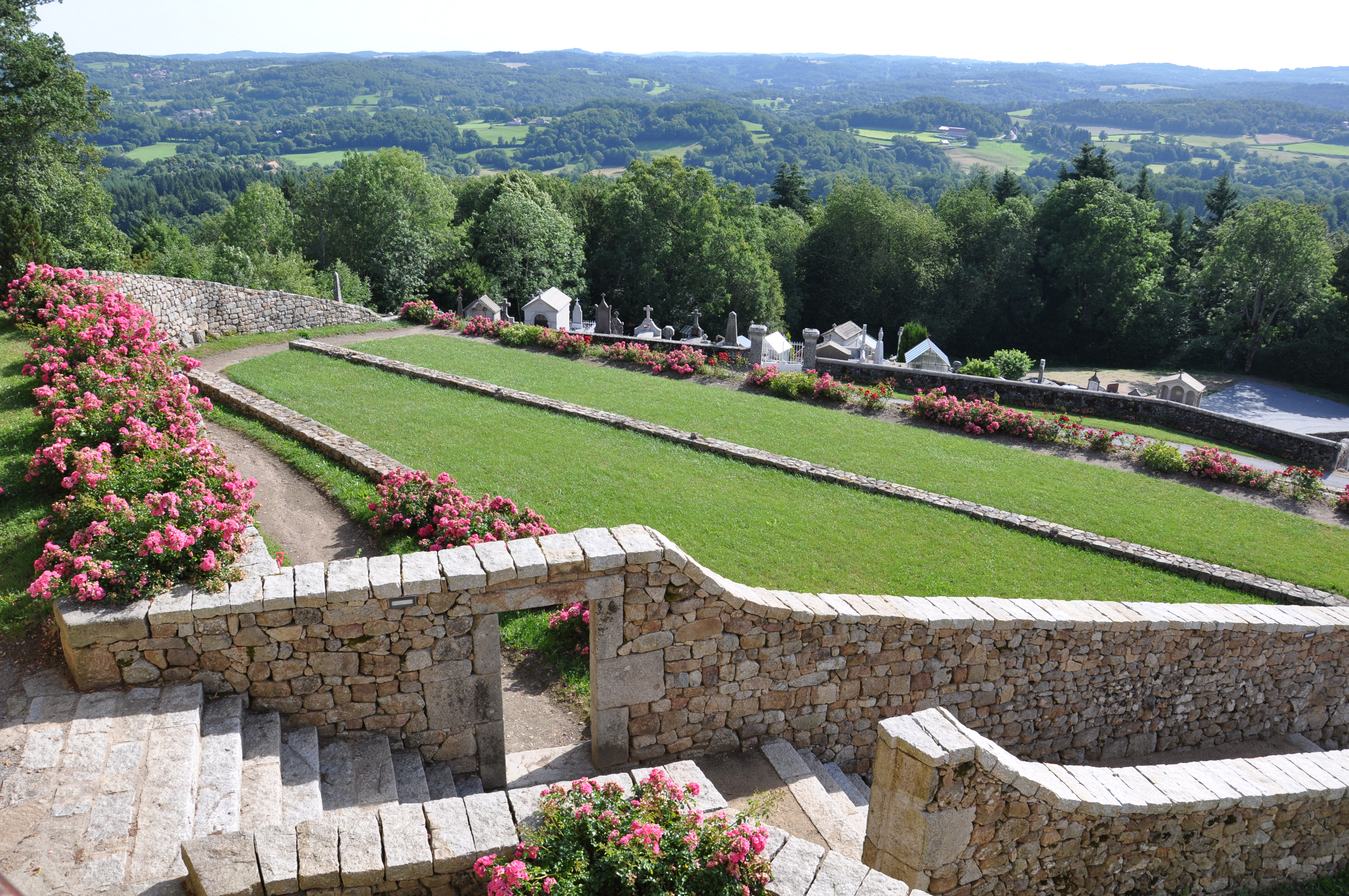 Saint-Georges Nigremont Les jardins en t