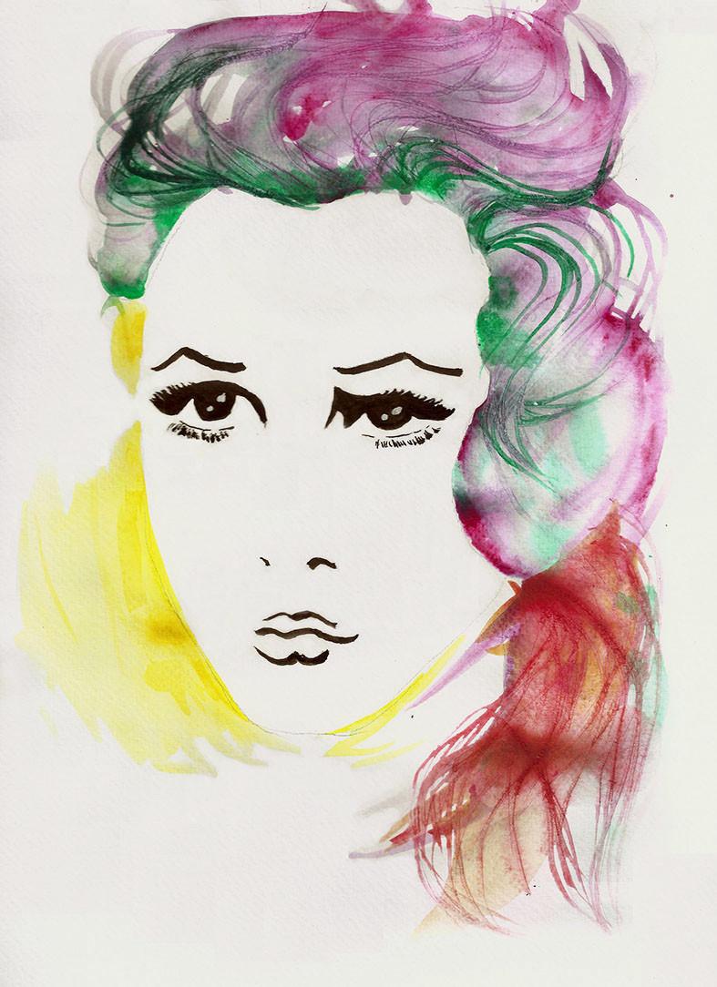 Portrait_Claudia Cardinale_farbig_200 dp