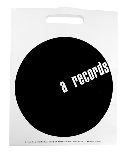 A RECORDS - PAPIERTASCHE