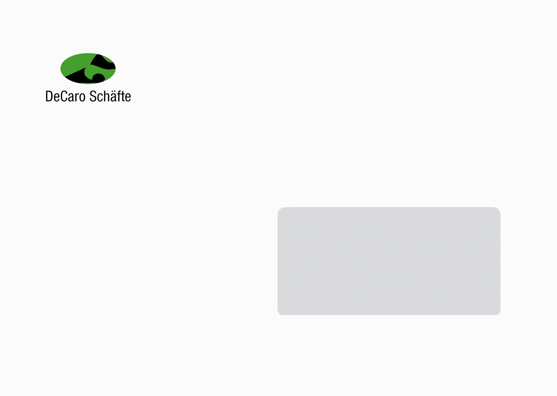 BRIEFUMSCHLAG - DE CARO SCHÄFTE