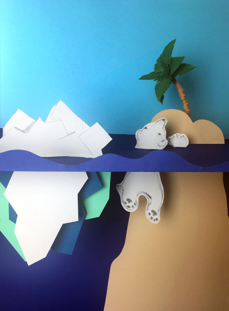 3D ILLUSTRATION PAPIER