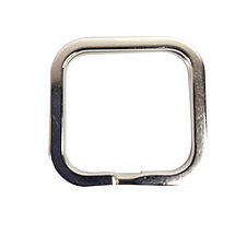 Anello quadrato per portachiavi