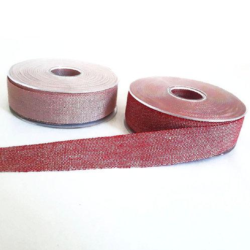 Opaque linen ribbon