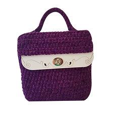 Kit borsa Violet Velvet