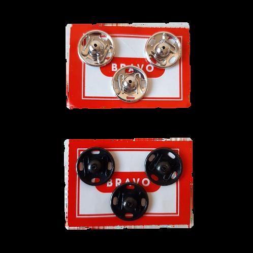 Bottoni automatici 15 mm