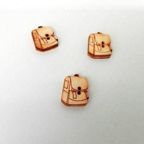 Bottini in legno - zainetto