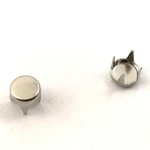 Borchie coniche rotonde - misura diametro 0,9 cm