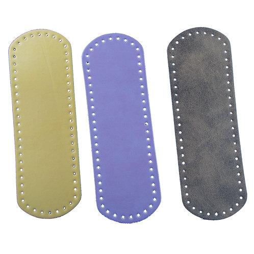 Leather bottom 24 x 8 cm