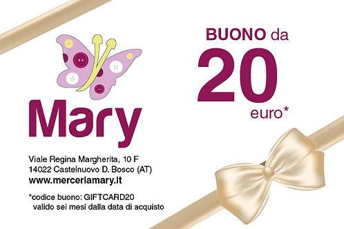 Gift Card 20 euro