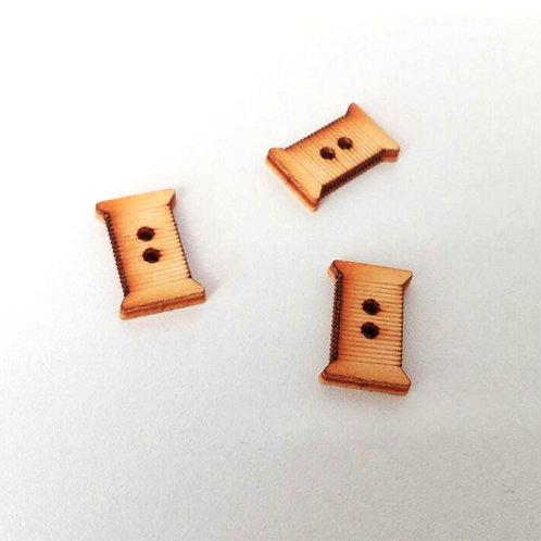 Bottini in legno - spoletta