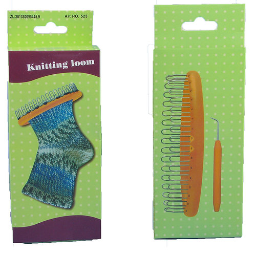 Set knitting loom