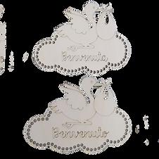 Cicogna - Fiocco nascita