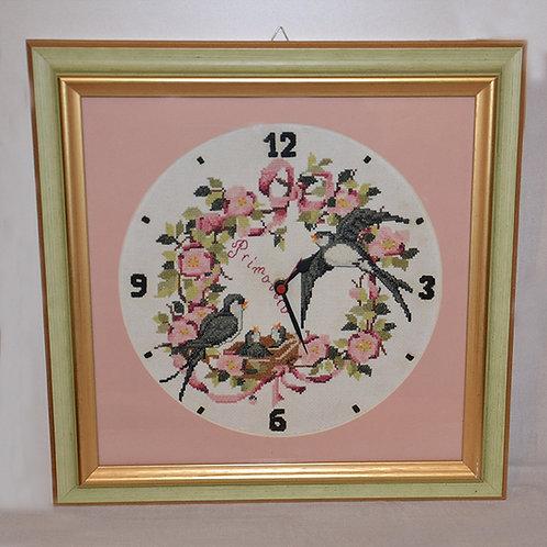 Orologio rondini 41 x 41 cm