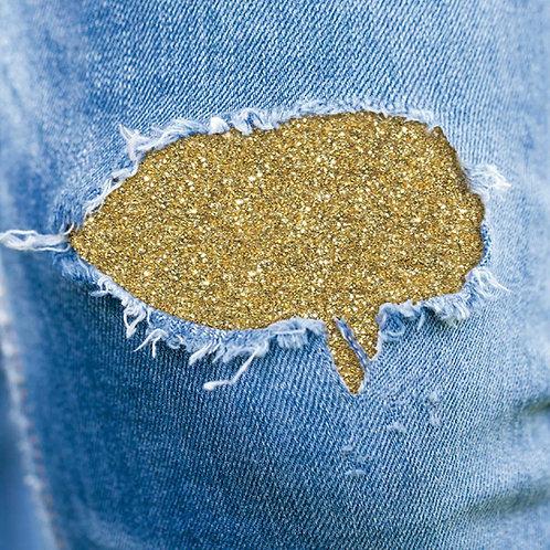Saldastrappi glitter