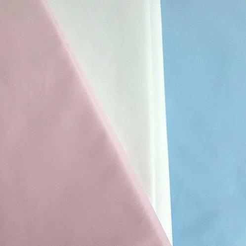 Tessuto di cotone tinta unita