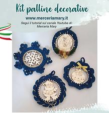 Kit palline decorative