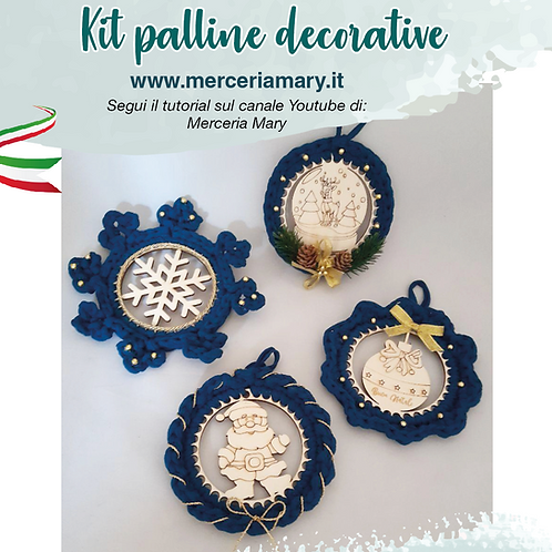 Kit palline decorative