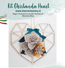 Kit Ghirlanda cuore