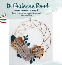 Kit Ghirlanda Round