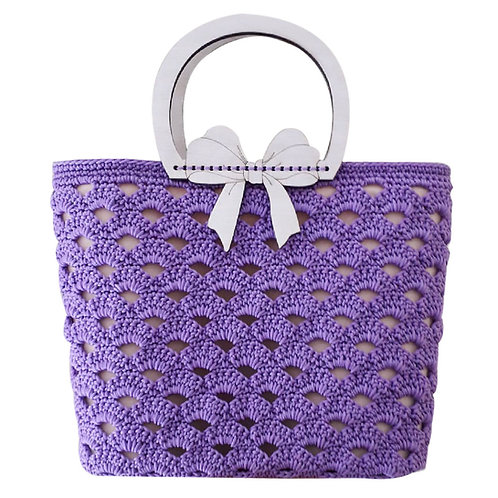 Violetta bag kit 3 (insert + yarn)
