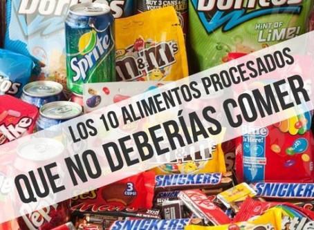Los 10 peores alimentos procesados para la salud que no debes comer