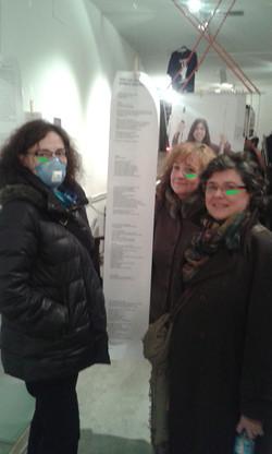 HAZLAS VISIBLES expo feder poema Pilar y amigas
