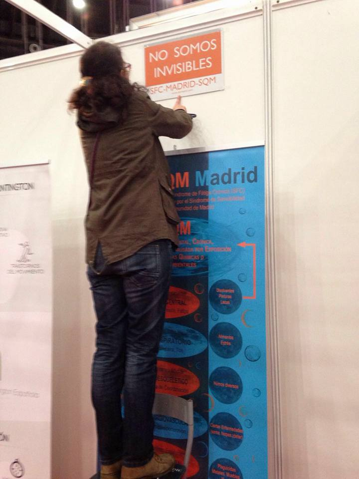 Expofeder Cristina montando