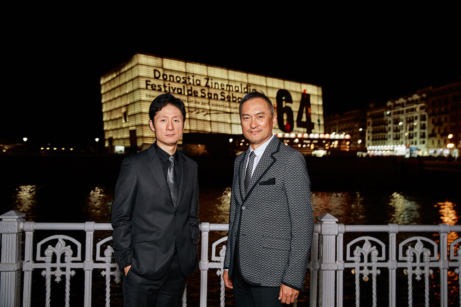Lee Sang il and Ken Watanabe