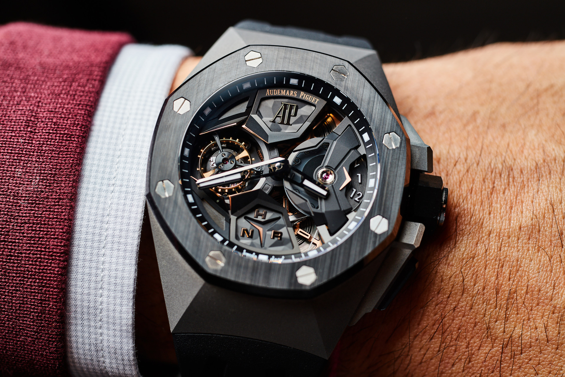 Audemars Piguet, Royal Oak Concept Tourbillon Volante