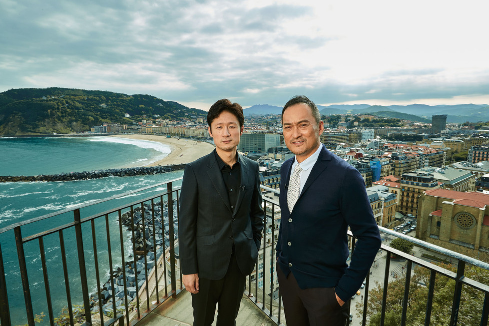 Lee Sang-il and Ken Watanabe at Donosti.