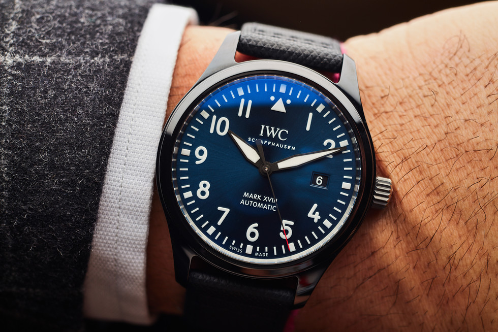 """IWC MarkVlll for """"Laureus Sport for Good Foundation"""""""