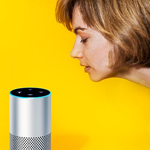 Woman talking to Alexa.jpg
