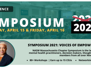 National Association of Social Workers Symposium, April 15th.