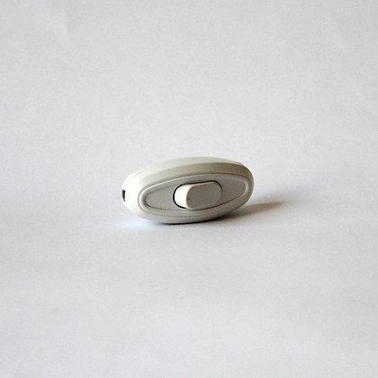 Выключатель для бра белый