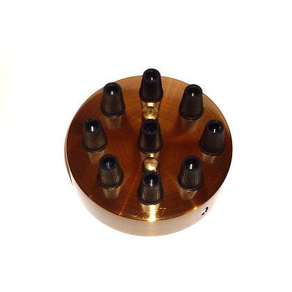 Потолочный крепеж бронзовый на 9 отверстий