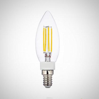 Акция! LED Лампа Эдисона C35 6W (Диммируемая)