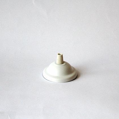 Потолочный крепеж диаметром 6,5 см белый