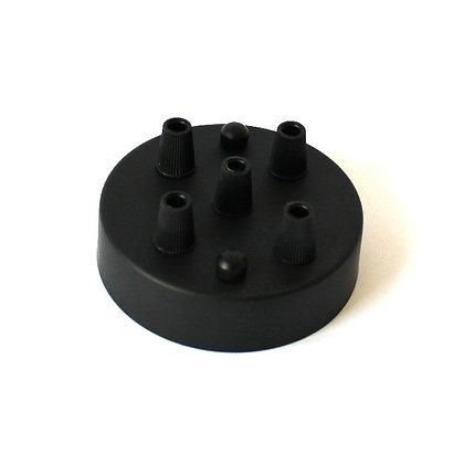 Потолочный крепеж черный на 5 отверстий