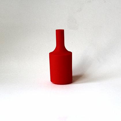 Патрон с силиконовой накладкой красный