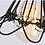 Thumbnail: Люстра ПАУК на 14-ть рук с абажуром клеткой